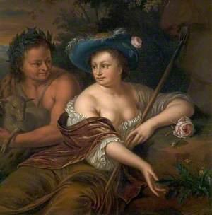 Pan and Flora