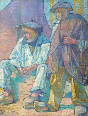 Two Breton Fishermen at Concarneau, France