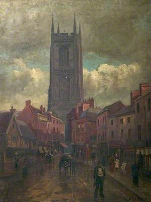 All Saints' Church Tower, Queen Street, Derby