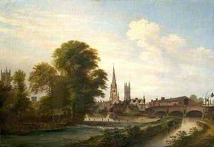 Junction of River and Canal, Derby