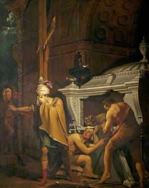 Miravan Breaking Open the Tomb of His Ancestors