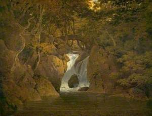 Rydal Waterfall, Cumbria