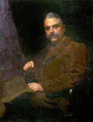 Alfred E. Goodey (1878–1945), 50th Birthday Portrait