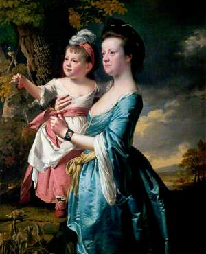 Sarah Carver and Her Daughter, Sarah
