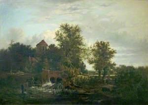 Sluice Gate, River Wensum, Norfolk