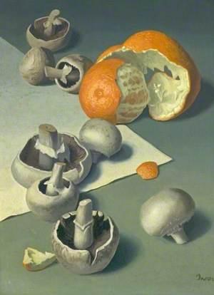 Orange and Mushrooms