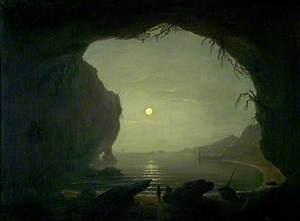 A Cavern, Moonlight