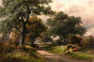 Gypsies in Sinfin Lane