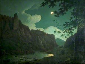 Dovedale, by Moonlight