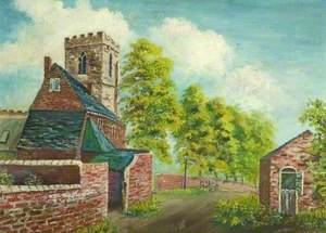 Wilne Church and Cottages, Derbyshire