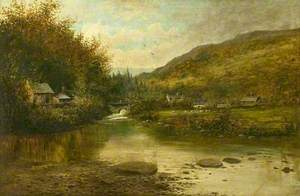 Rural River Landscape*