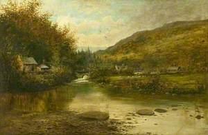 Rural River Landscape*