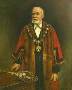 Councillor Charles Mitchell (b.1831), Mayor of the Borough of Ilkeston (1899–1900)