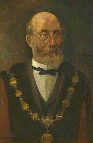 Alderman John Moss (b.1824), Mayor of the Borough of Ilkeston (1891–1892)