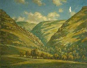 Dovedale from the Isaak Walton Hotel, Derbyshire
