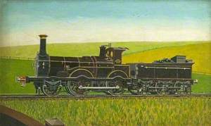 London & South Western Railway 2–4–0 Locomotive 'Isis'