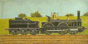 London & South Western Railway 2–4–0 Locomotive 'Wildfire'