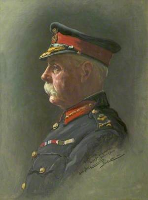 His Excellency Major General H. R. Abadie, CB, Lieutenant Governor of Jersey