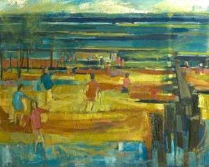 Beach with Figures