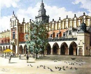 Krakow Market, Poland