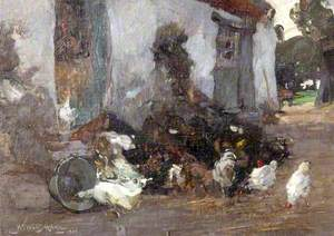 A Corner of the Farmyard