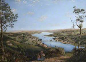 A View of Bideford from Upcott Hill, Devon