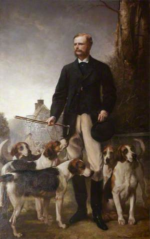 The Honourable Mark George Kerr Rolle (1835–1907), High Steward (1861–1907)