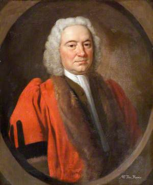 Thomas Harris, Mayor of Barnstaple (1733)