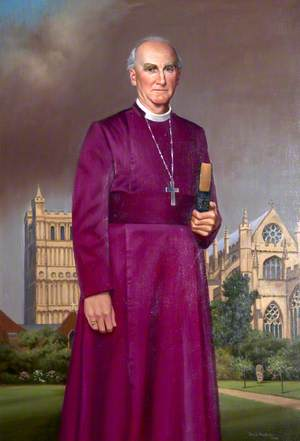 Hewlett Thomson (b.1929), Bishop of Exeter (1985–1999)