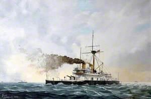 HMS 'Thunderer' Devastation Class, 1877