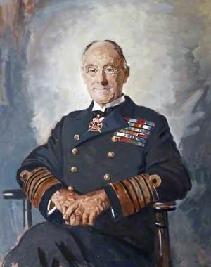 Admiral of the Fleet Earl Jellicoe (1858–1935)