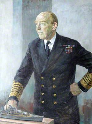 Admiral of the Fleet Sir Michael Le Fanu (1913–1970)