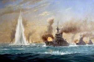 Jellicoe Crosses the 'T', Jutland 31 May 1916
