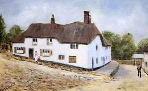 'Church Steps', Bovey Tracey, Devon