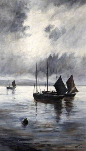 Eventide with Fishing Boats