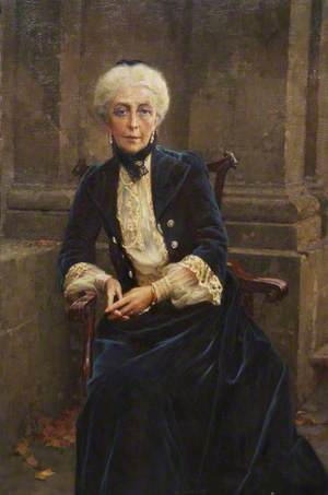 Agnes Elizabeth, only Daughter of William Reginald and Mother of Charles Frederick Lindley Wood, Viscount Halifax