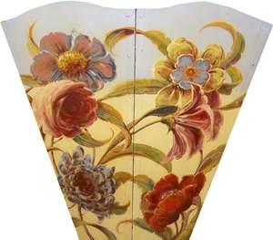 R. Edwards' 'Super Chariot Racer': Floral Scene