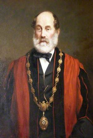 Alderman Nathaniel Chapple, Mayor of Torrington (1871, 1879 & 1889)