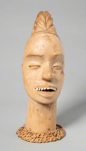 Efik Carved Head
