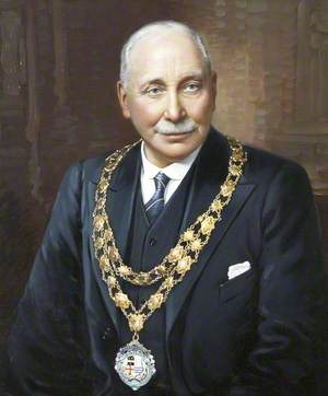 Major F. H. Thomas, Chairman of Ilfracombe Council (1936–1938)