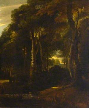 Landscape, Woodland Glade