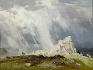 Storm over Dartmoor, Devon