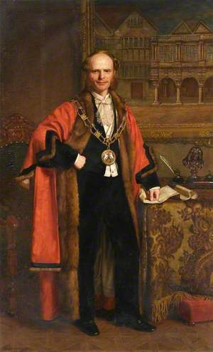 Charles John Follett (1838–1921), Mayor of Exeter