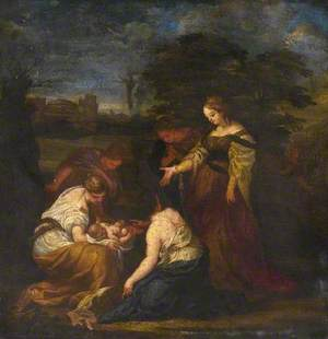 The Discovery of Moses in the Bulrushes
