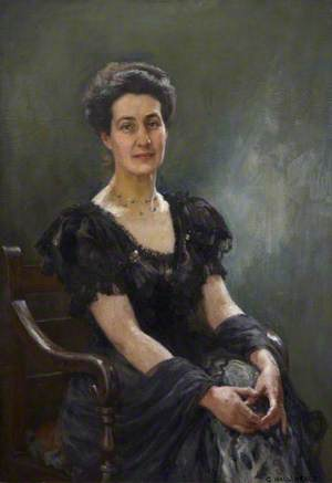 Portrait of a Doctor's Wife