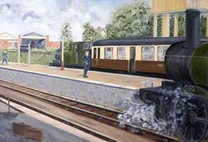 Tiverton Railway Station, Devon