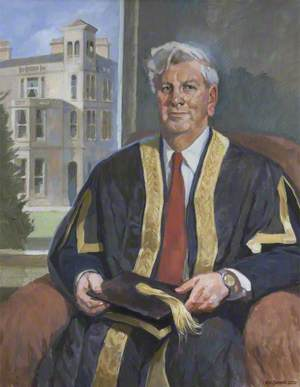 Sir Geoffrey Holland (b.1938), Vice-Chancellor of the University of Exeter