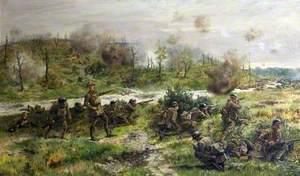 The Last Stand of the 2nd Devons at Bois-des-Buttes, 27 May 1918