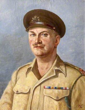 Lieutenant Colonel L. H. M. Westropp (1896–1991), of the Devonshire Regiment