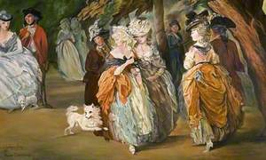 The Morning Walk: In Homage to Thomas Gainsborough